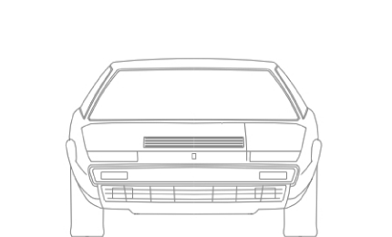 308gt4 CAD front